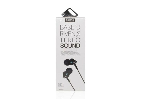 Remax RM-501 Bass Driven Stereo Sound Earphone